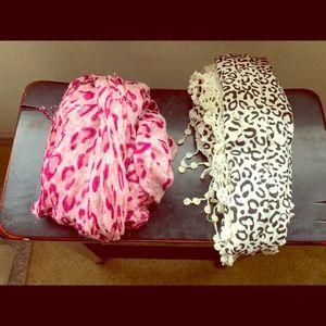 Two cute/fun scarfs